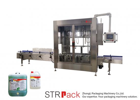 Disinfectant Cleaner Liquid Net Weigh Filler