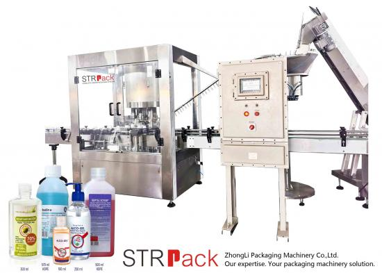 Automatic Explosion Proof Capping Machine