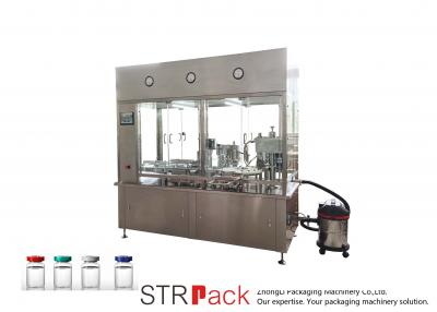 Monoblock Unscrambler, Rinser, Vial Filling, Closing, and Sealing Machine